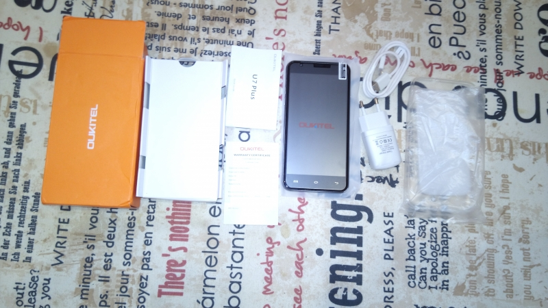 Смартфон Oukitel U7 Plus 16Gb2Gb Dual LTE